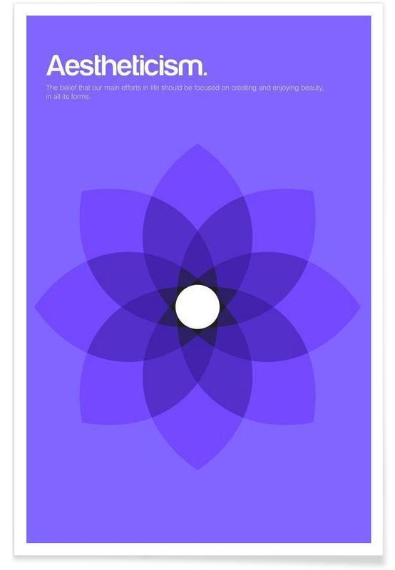 Esthétisme - Definition minimaliste affiche