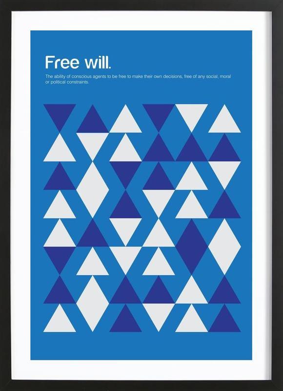 Free Will Framed Print