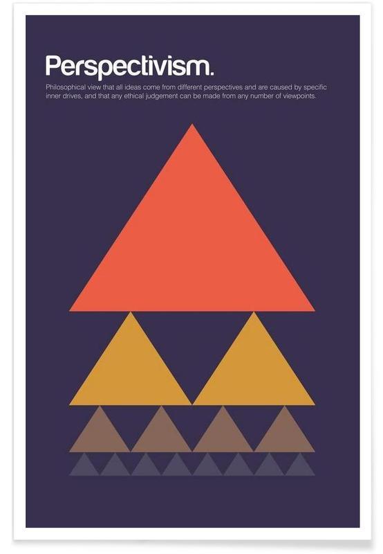 , Perspective - Definition minimaliste affiche