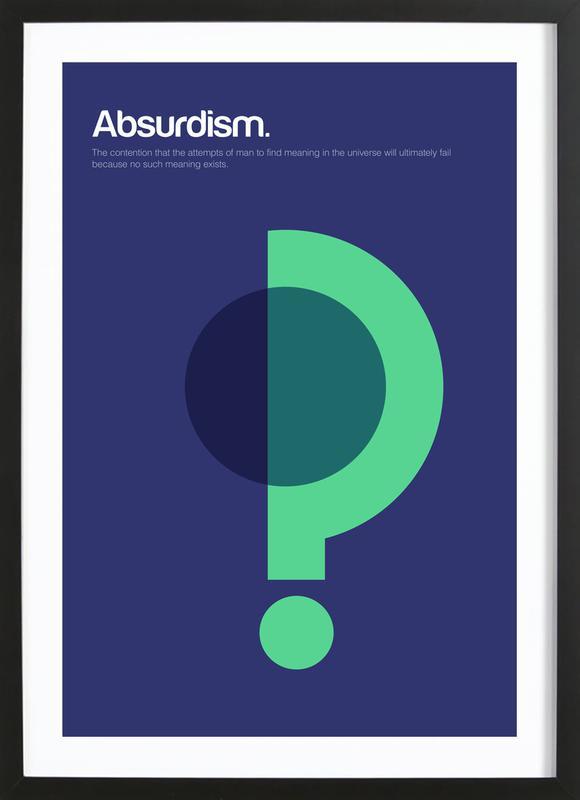 Absurdism Framed Print