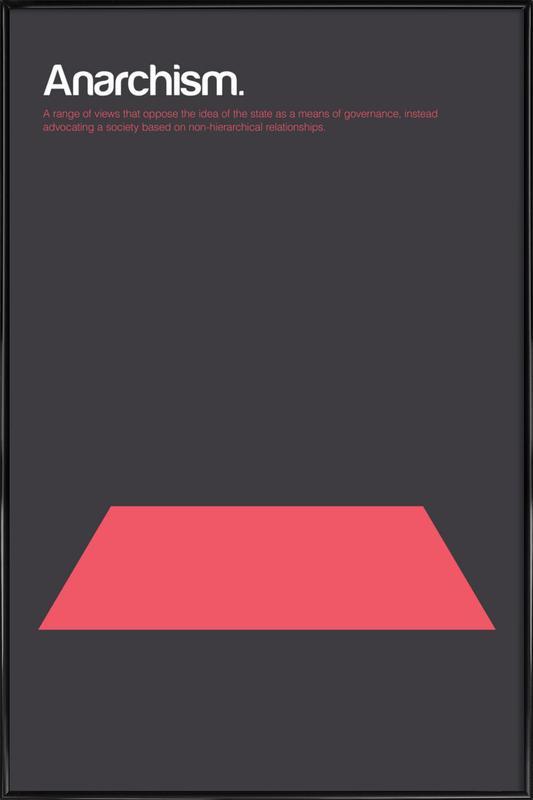 Anarchism Framed Poster