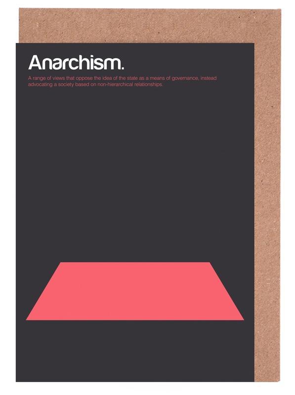Anarchism Greeting Card Set