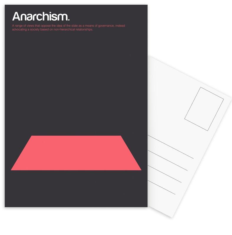 Anarchism cartes postales