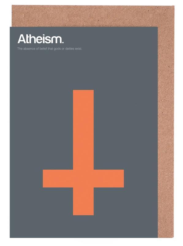 Atheism Greeting Card Set