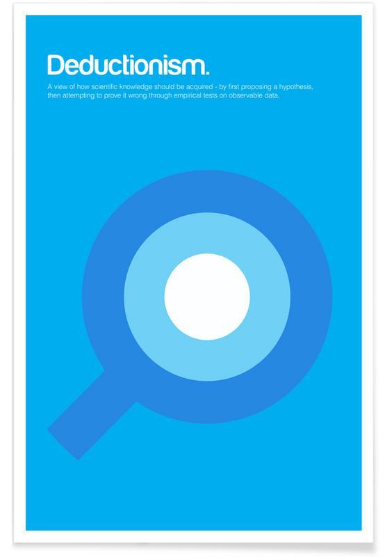 Symbols, Deductionism - Minimalistic Definition Poster