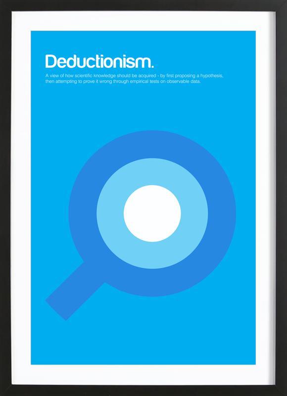 Deductionism Framed Print
