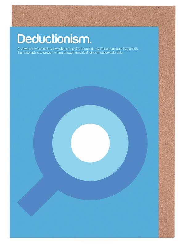 Deductionism -Grußkarten-Set