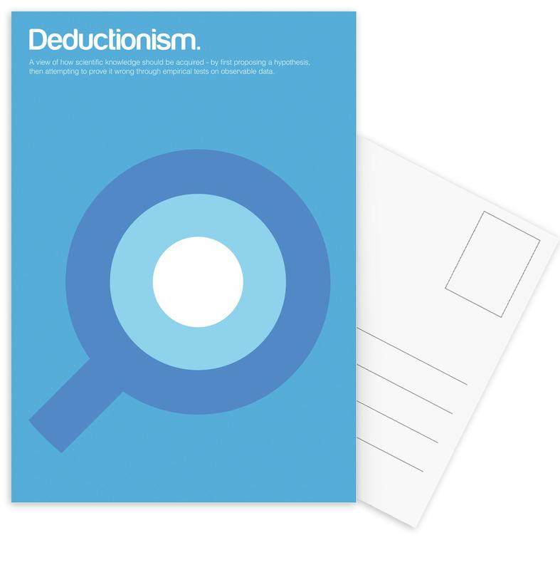 Deductionism -Postkartenset