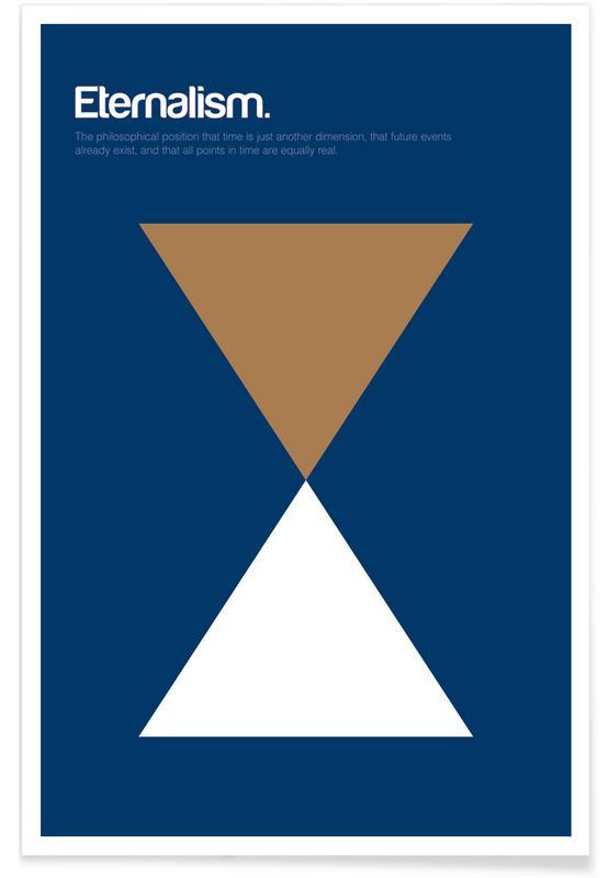 Eternalism - Minimalistic Definition Poster