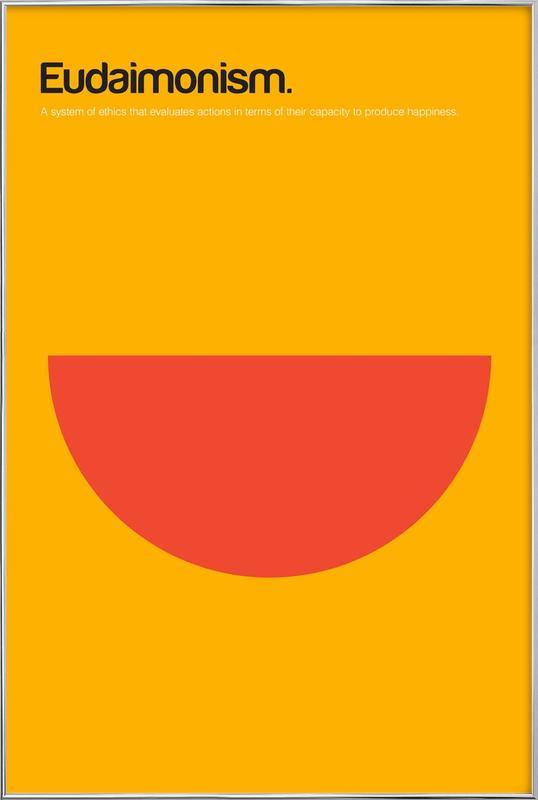 Eudaimonism -Poster im Alurahmen