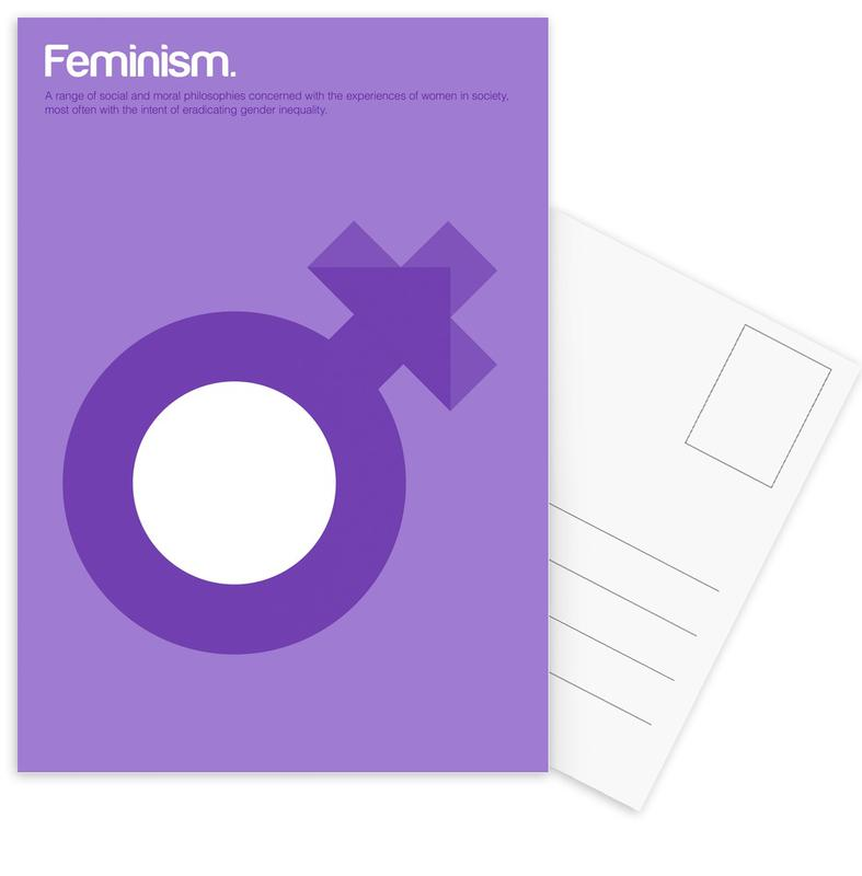 Feminism -Postkartenset