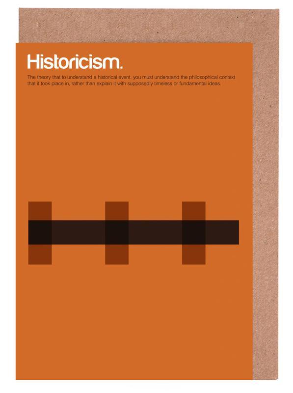Historicism Greeting Card Set