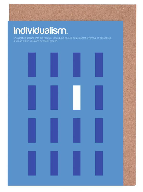 Individualism cartes de vœux