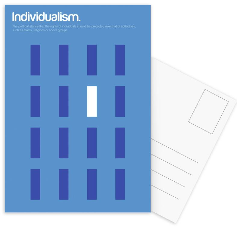 Individualism cartes postales