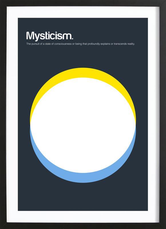 Mysticism -Bild mit Holzrahmen