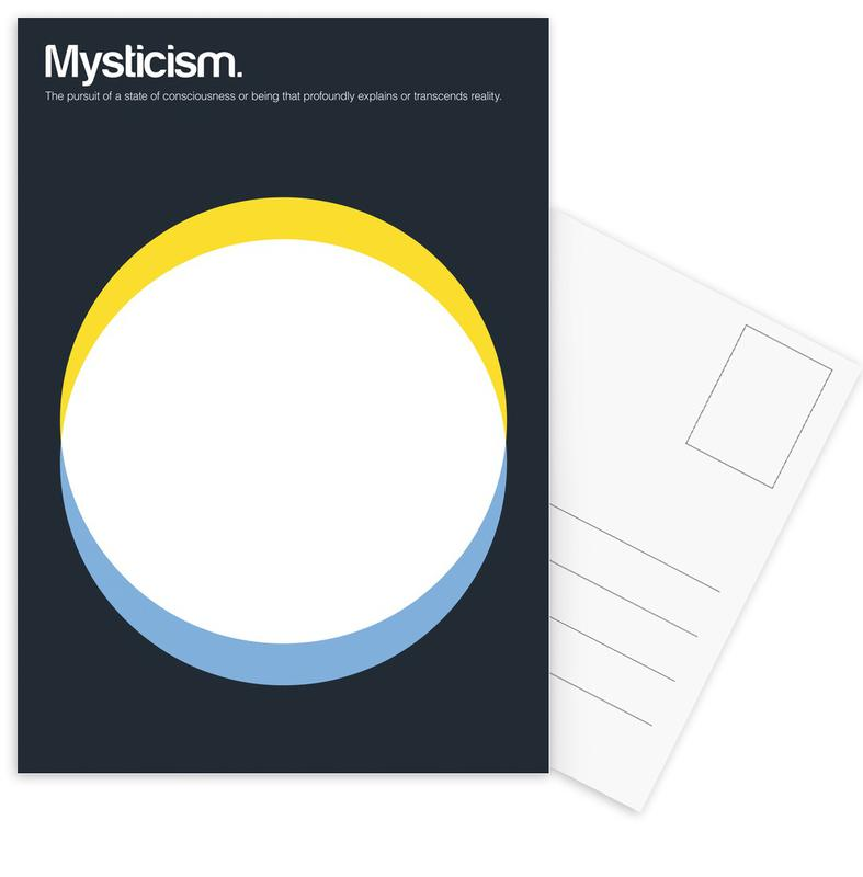 Mysticism -Postkartenset