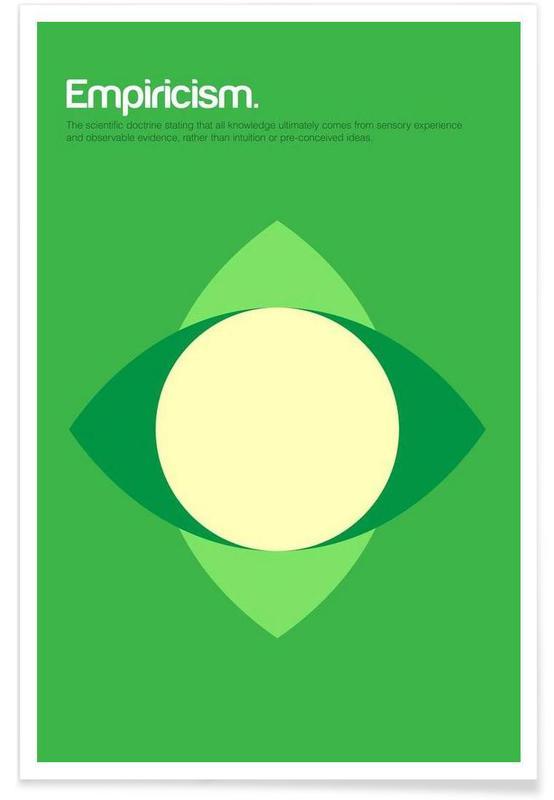Empiricism - Minimalistic Definition Poster