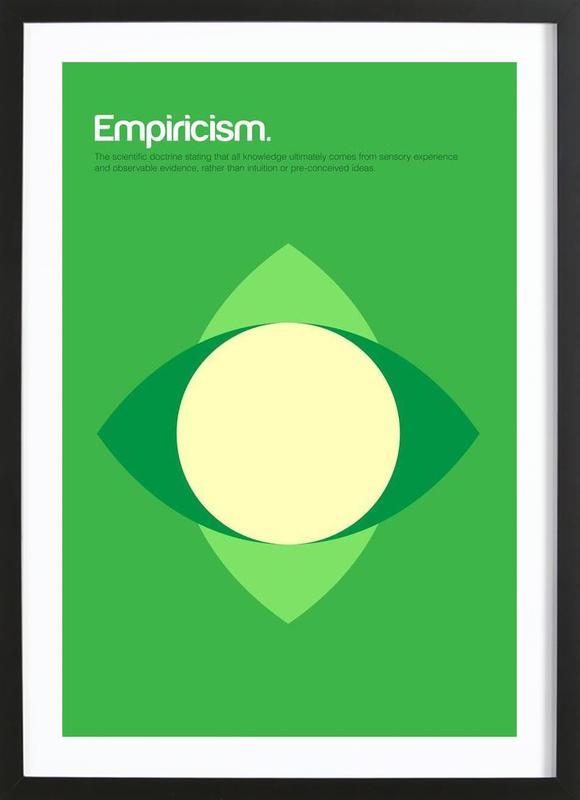 Empiricism ingelijste print