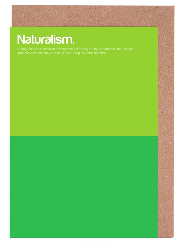 Naturalism cartes de vœux