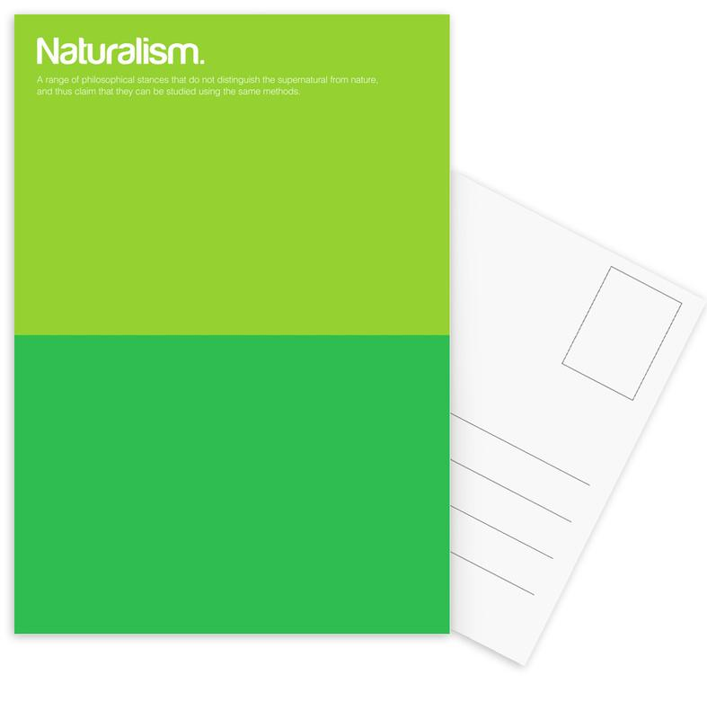Naturalism -Postkartenset