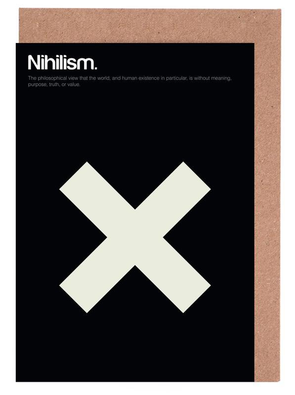 Nihilism cartes de vœux