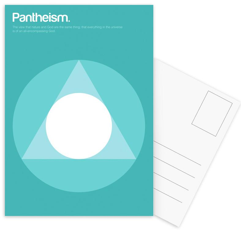 Pantheism Postcard Set