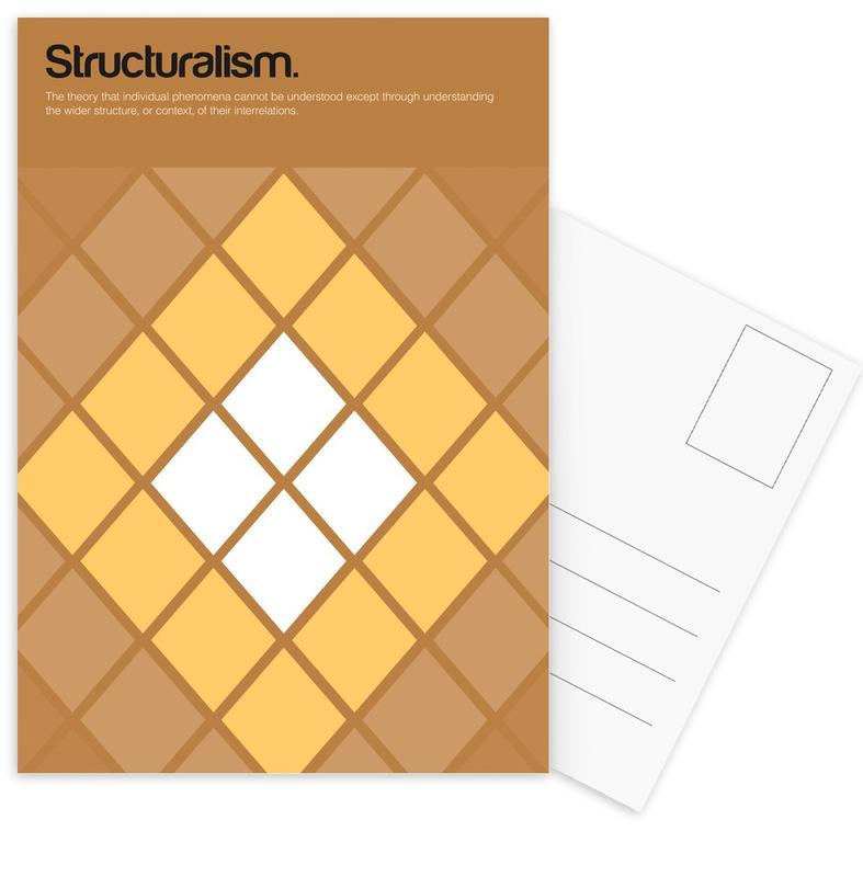 Structuralism cartes postales