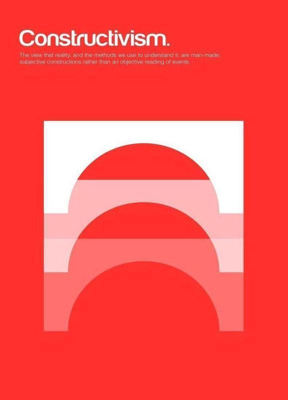 Constructivism -Leinwandbild
