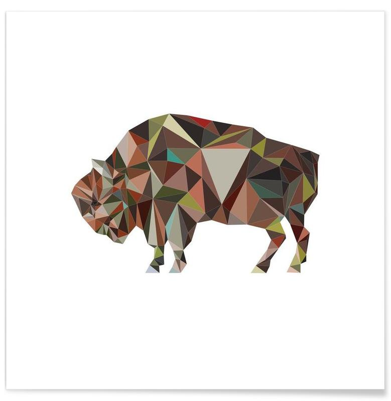 , A.Bison poster