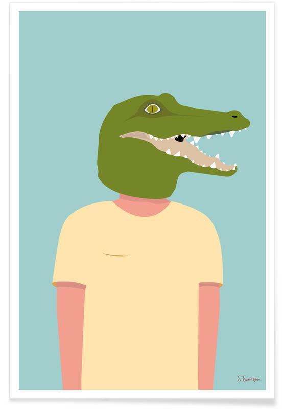 Vélos, En Smuk Dag Som Krokodille affiche