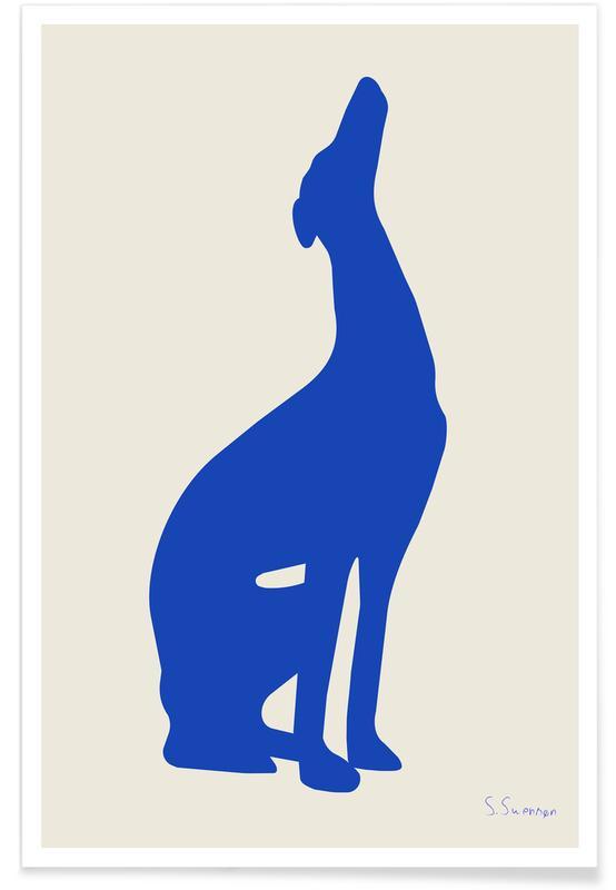 Lustig, Strækøvelser -Poster