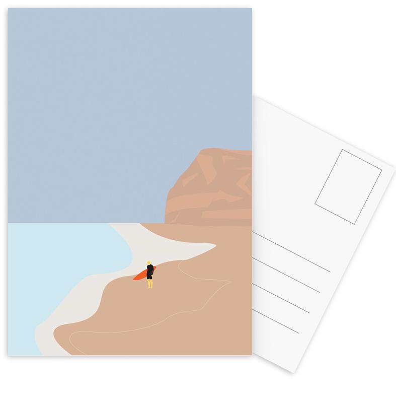 Surfing, Fornøjelse Surf No. 01 Postcard Set