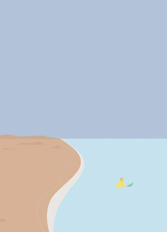 Fornøjelse Surf No. 02 Canvas Print