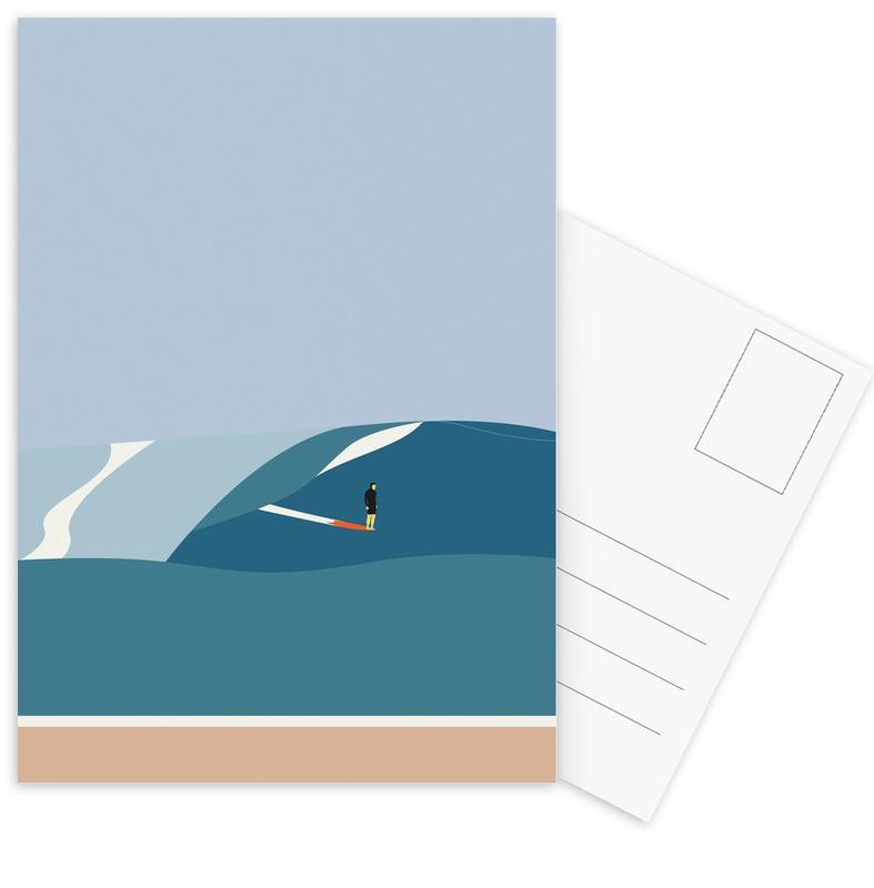 Surfing, Fornøjelse Surf No. 03 Postcard Set