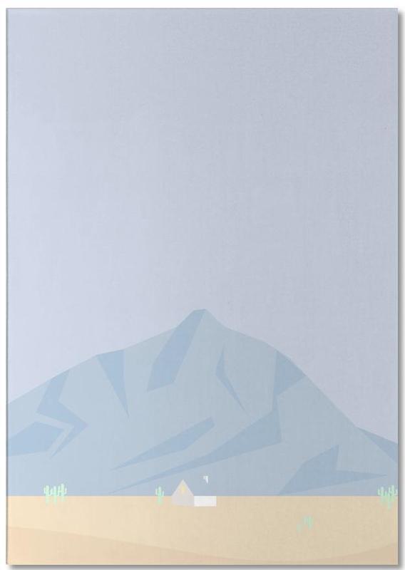 Mountains, Hus No. 3 Notepad