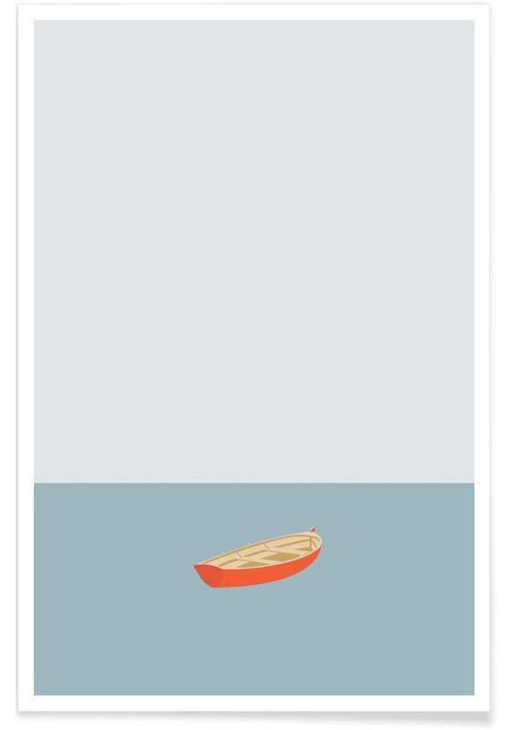 Boten, Ocaen Svømmere Boat poster