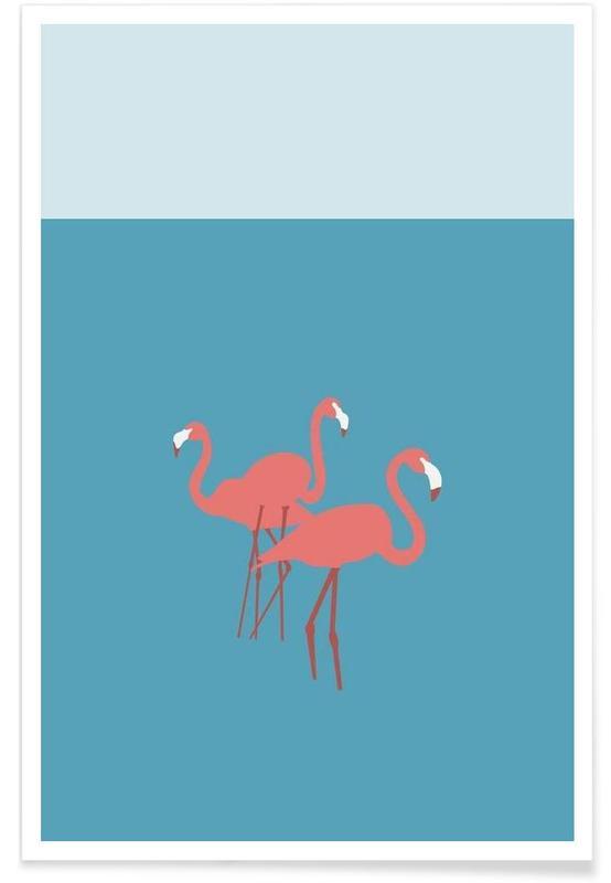 Flamingos, Flamingo -Poster