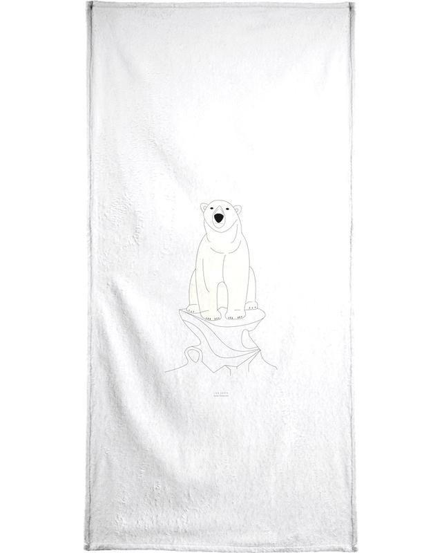 Beren, Zwart en wit, Isbjørn handdoek