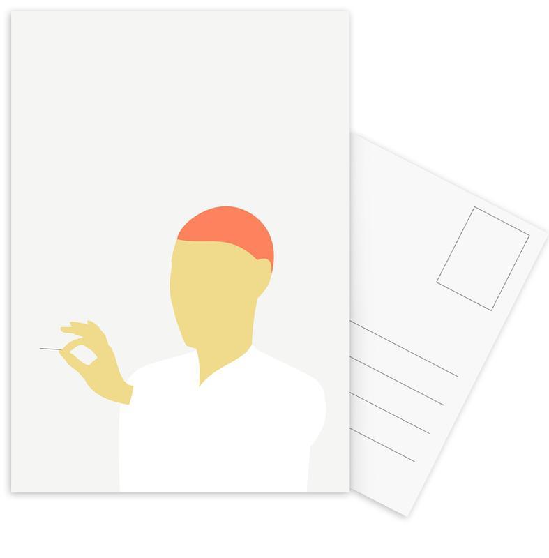 Portraits, Modig 02 Postcard Set