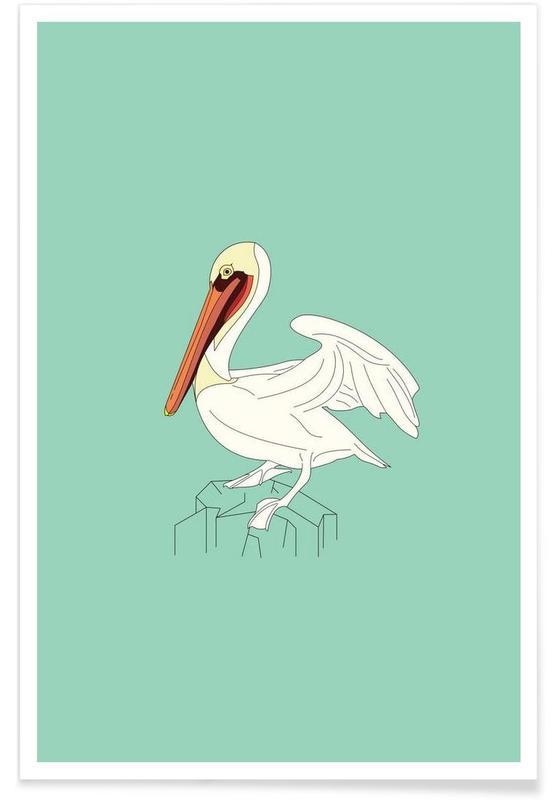 Pelikanen, Pelikan poster