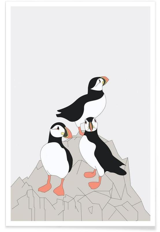 Pingouins, Lunde affiche