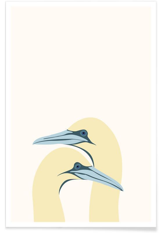 Kraniche, Ægtepar -Poster