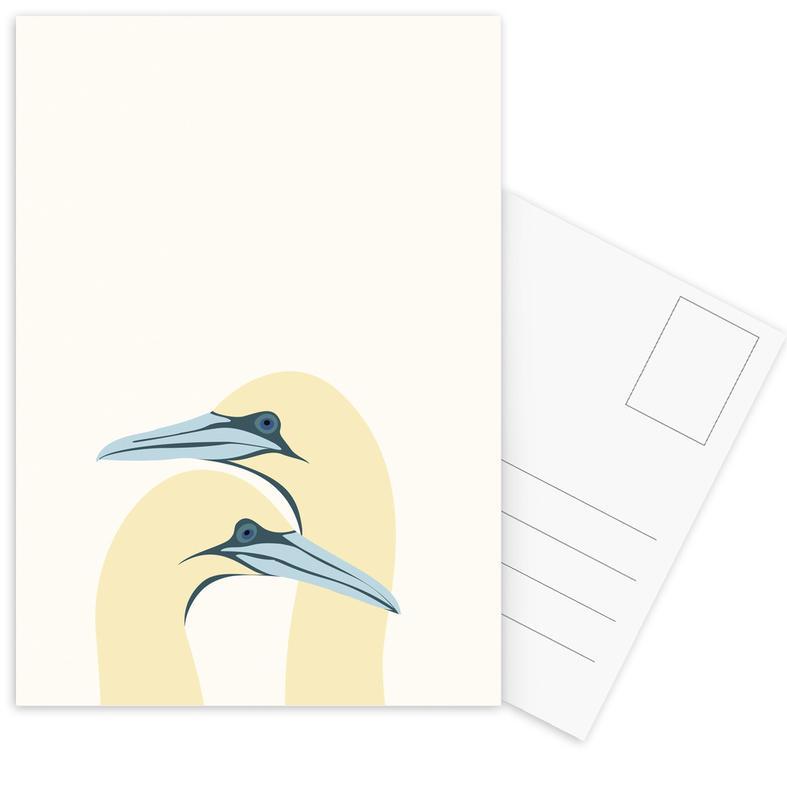 Ægtepar Postcard Set