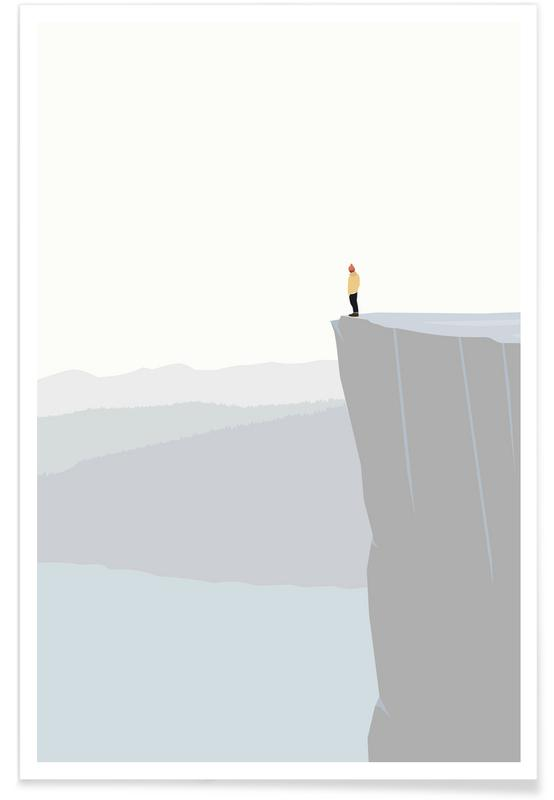 Berge, Godudsigt -Poster