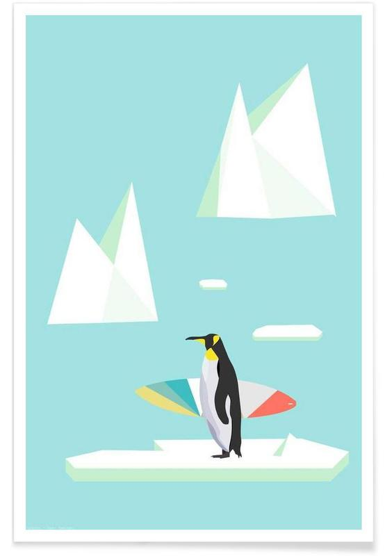 Pingouins, Pingvin affiche