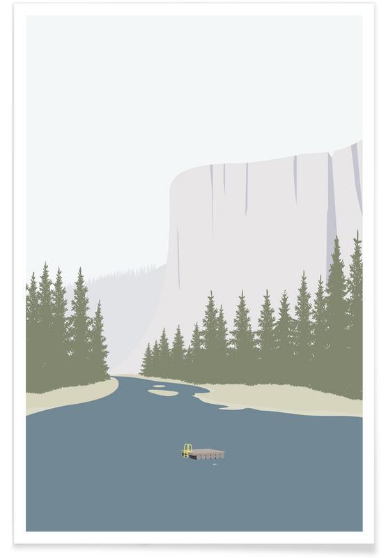 Tømmerflåde -Poster
