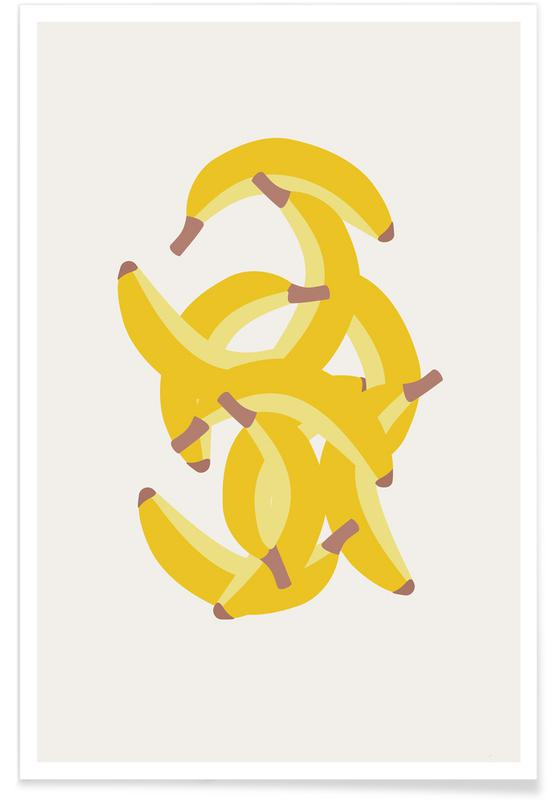 Bananen, Jeg Elsker Bananer -Poster