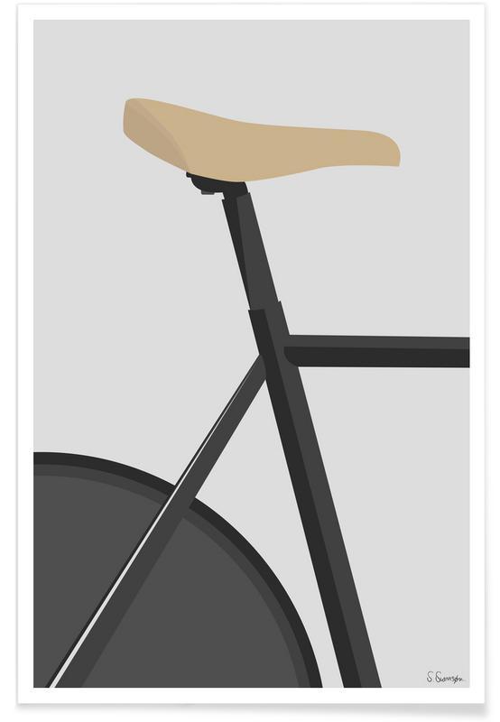 Vélos, Banecykling affiche
