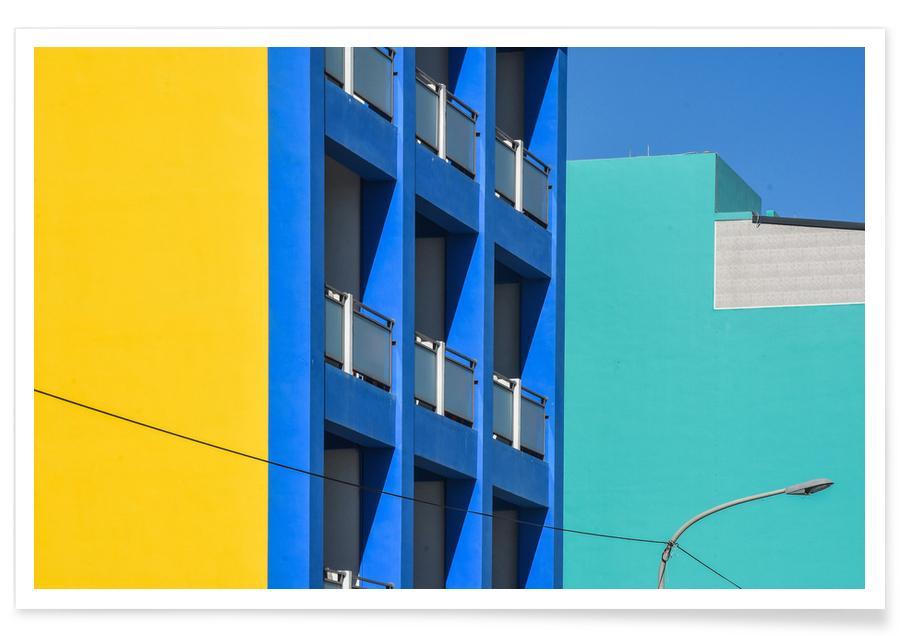 Architekturdetails, Hulaien 1 -Poster