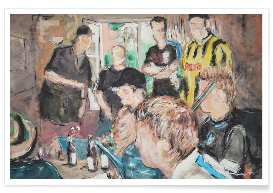 Football, Groupes, Rudelrocker affiche